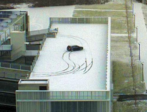 Auto Schleuder Schnee1  00011