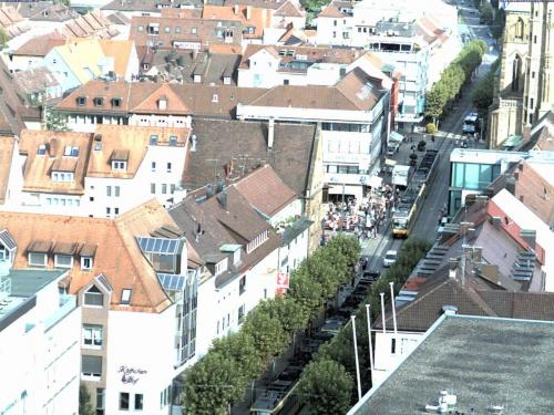 Verkehrs Planung Fußgängerzone, Stadtbahn